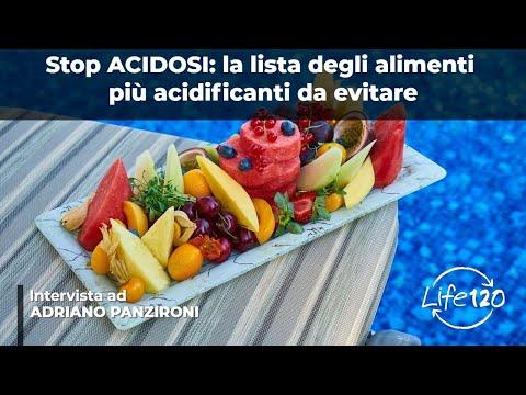 quali sono i cibi più acidificanti che mangiamo?
