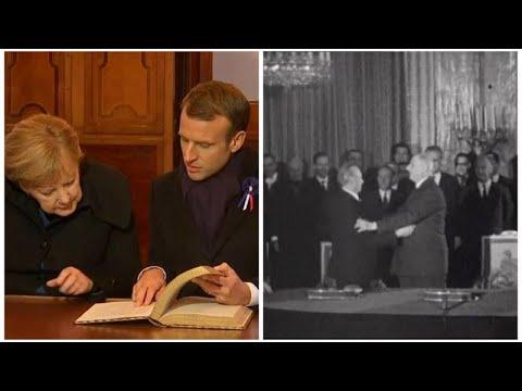Συνθήκη Ελιζέ: Τα θεμέλια του γαλλο-γερμανικού άξονα μπήκαν το 1963…