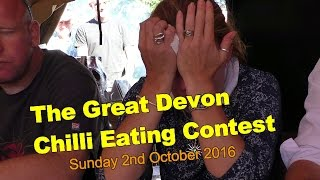 The Great Devon Chilli Eating Contest - Sun 2nd Oct