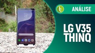 Tudocelular - V35 ThinQ: uma acanhada estreia no Brasil do que a LG tem de melhor  Review / Análise