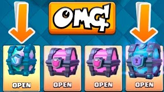 LEGENDARY CHEST & SUPER MAGICAL CHEST OPENING! :: Clash Royale :: NEW EPIC & LEGENDARY CHEST