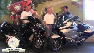 6. Two Victory Riders Buy Sport Touring Bikes - BMW K 1600 GTL and Kawasaki Concours 14