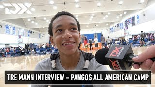 Tre Mann Interview - Pangos All American Camp