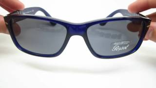 Available on our website : http://goo.gl/vPJRbSA review of the Persol PO 3154S Sunglasses in color 1047/R5, which is the Blue frames with Azure lenses.Connect with usFacebook : https://www.facebook.com/eyeheartshad...Instagram : https://www.instagram.com/eyeheartsha...Google + : https://plus.google.com/+EyeHeartShadesTwitter : https://twitter.com/eyeheartshadesWebsite : https://www.eyeheartshades.com/