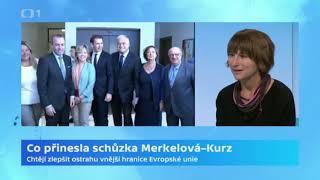 Co přinesla schůzka Merkelová-Kurz