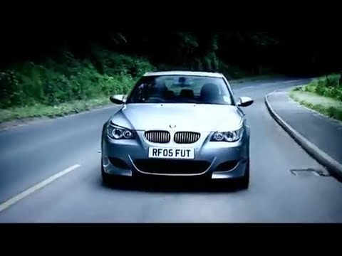 BMW M5 Road Test Part 1 - Top Gear - BBC (видео)