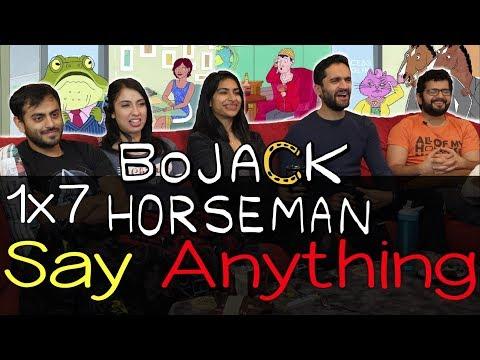BoJack Horseman - 1x7 Say Anything - Group Reaction