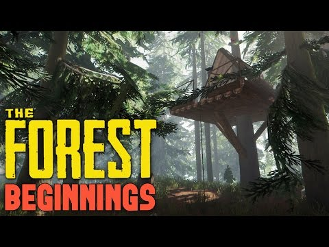 The Forest - WHEN CROCODILES ATTACK! - Tree House