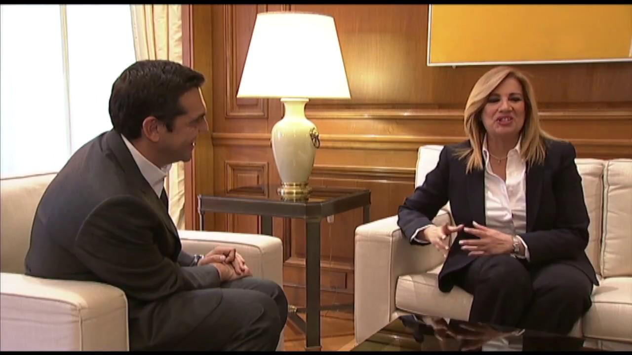 Συνάντηση με την κα Φώφη Γεννηματά για την συμφωνία στο Eurogroup και το Κυπριακό