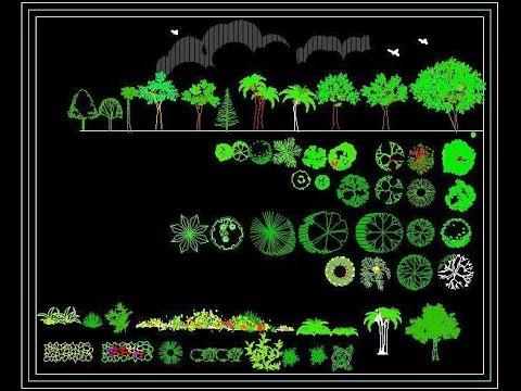 Free Landscape Autocad Block Download (www.planndesign.com)- Plants ...