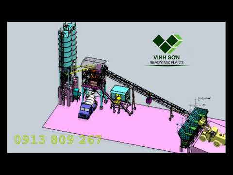 Concrete batching plant - Vinh Sơn co., Ltd