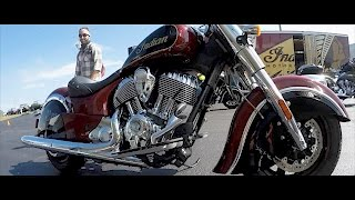 9. 2017 Indian Chief Classic | First Time Riding | Timeless Style