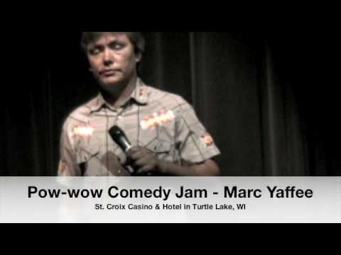 Marc Yaffee of Pow-wow Comedy Jam