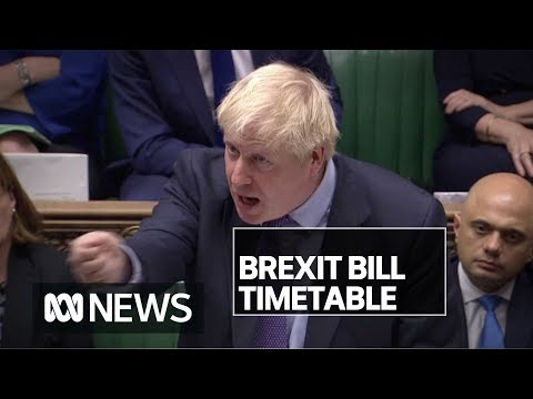 British MPs finally voted for Brexit — but rejected Boris Johnson's 'rushed' timetable   ABC News