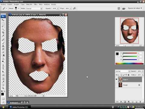retocar rostro Photoshop CS3