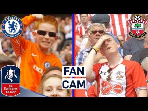 The Best Fan Reactions as Chelsea Reach FA Cup Final! | Fan Cam | Emirates FA Cup 17/18