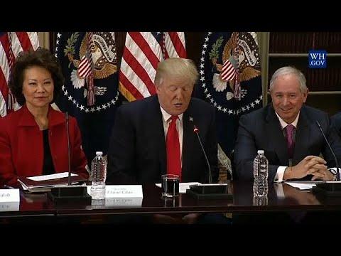 Trump disbands business councils after CEOs quit