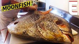 Breaking Down A Giant Moonfish At Greenpoint Fish & Lobster Co. — Snack Break by Eater