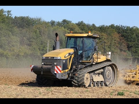 Caterpillar Challenger MT865C - 500 hp sound
