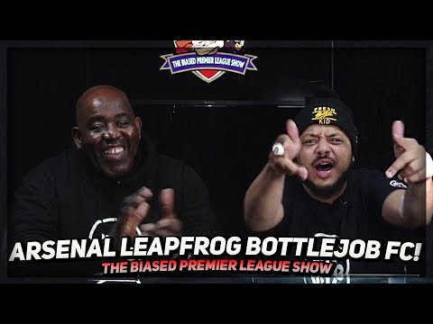 Arsenal Leapfrog Bottle Job FC & Cardiff Get Robbed! | The Biased Premier League Show Ft Troopz