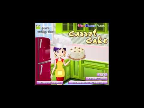 Cooking Games For Girls| Carrot Cake Cooking