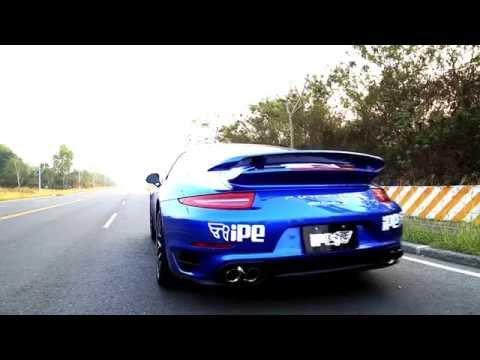 ポルシェ 991ターボ/ターボS 用 iPE 可変バルブマフラー