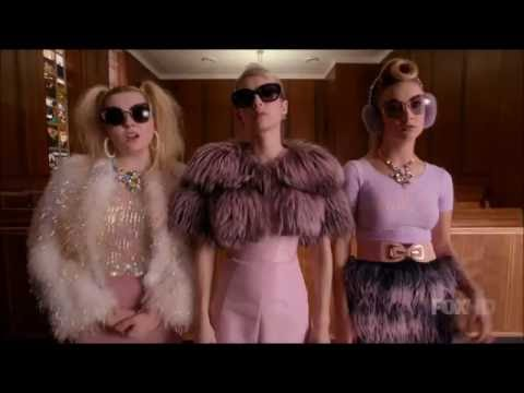 Scream Queens 1x13 - Aftermath of Hester framing the Chanels