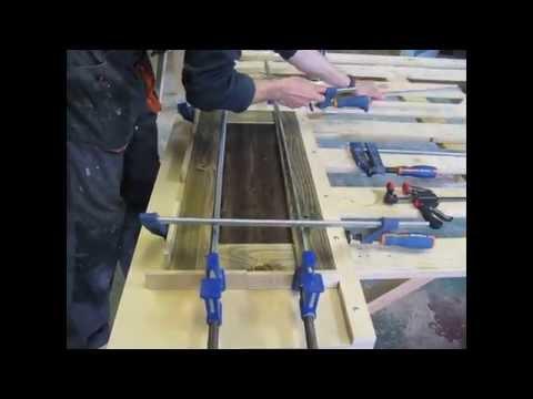 Изготовление фасадов из массива своими руками