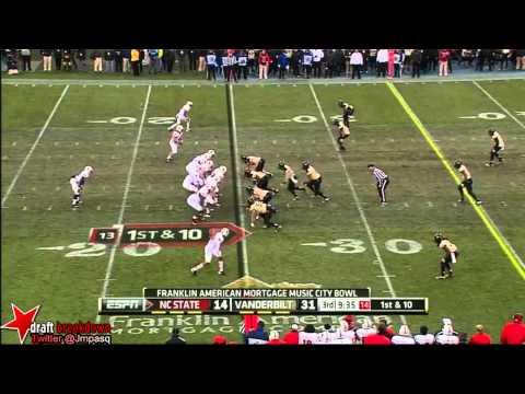 Kenny Ladler vs North Carolina St. 2012 video.