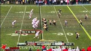 Kenny Ladler vs NC State (2012 Bowl)