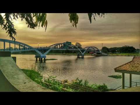 Aluva, beautiful city  near Kochi , Ernakulam district in Kerala, India