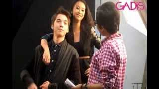 Download Lagu Behind The Scene - Stefan William and Anisa Anandita for GADISmagz 04/2013 Mp3