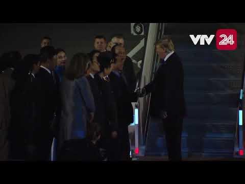 Tối nay (26/2), máy bay chở Tổng thống Donald Trump đã tới Việt Nam tham dự Hội nghị Thượng đỉnh Mỹ - Triều Tiên lần thứ hai tại Hà Nội @ vcloz.com