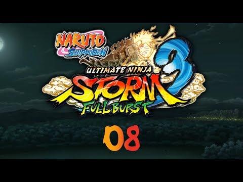 Naruto Shippuden: UNS3 Full Burst - Прохождение pt8 - Глава 3: Два джинчурики
