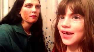 Nixxi's 7 year old make-up tutorial - Boy/ Drag Queen Make-up
