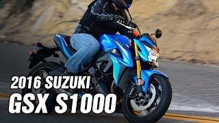 6. 2016 Suzuki GSX S1000 Spec