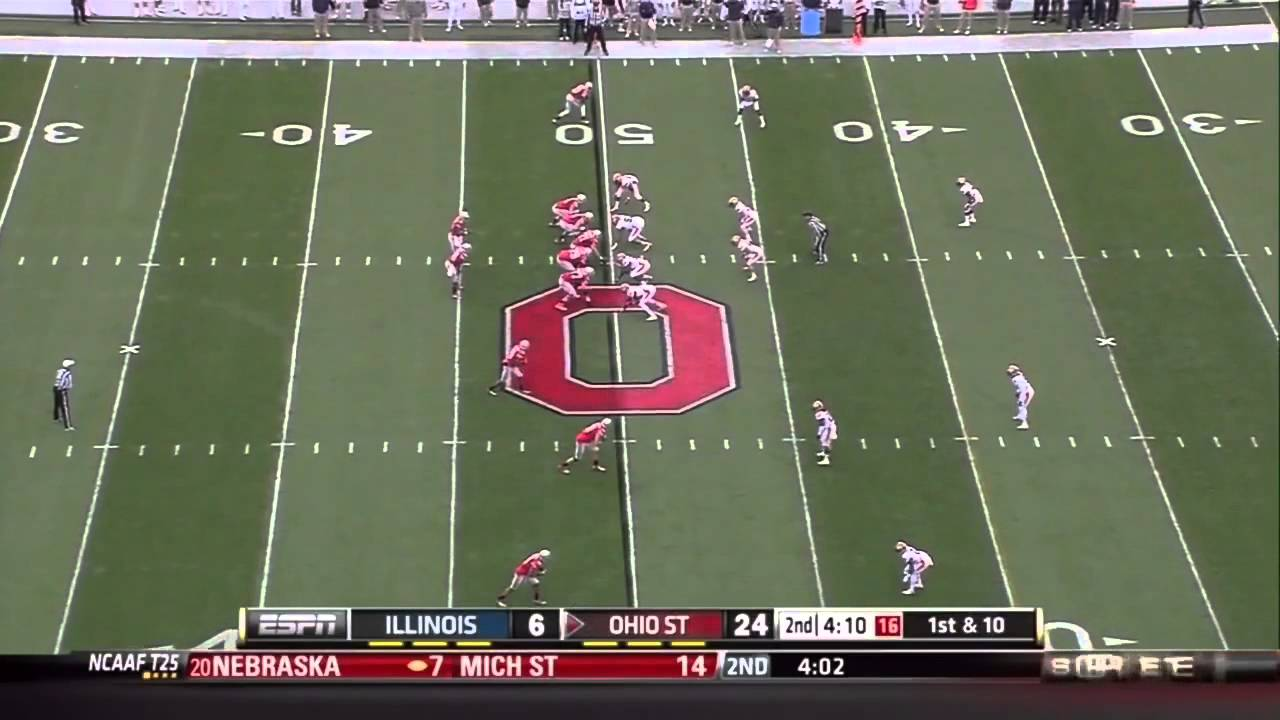 Akeem Spence vs Ohio State (2012)