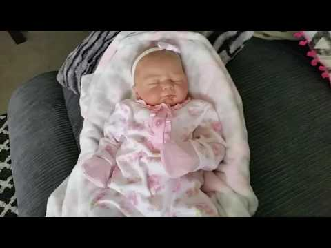 Video Christina'sReborns - Gorgeous Reborn Baby Ivy wearing a new pretty outfit! download in MP3, 3GP, MP4, WEBM, AVI, FLV January 2017