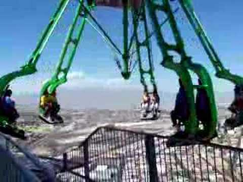 Crazy ride 909 ft above the ground