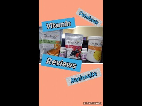 Vitamin Reviews || Celebrate || Barimelts || Preparing for VSG