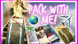 Pack With Me! Spring Break Vacation! Tips & Tricks! Hope this video helped you guys while packing your suitcase for your vacation or road trip! I worked hard on it! Some clothing will be linked below! Please subscribe! Love you chicas!Romwe website: https://goo.gl/O0q1Qw White with colored fringe shirt: https://goo.gl/PeUkFdDress/Romper: https://goo.gl/T29LpUvlog channel: https://www.youtube.com/channel/UC5U8HKZOmaaAHJTLUGOrc_gif ur a company, wanting to reach me:claudiacasey972@gmail.com Instagram:https://www.instagram.com/claudiacasey972/Twitter: https://mobile.twitter.com/accountWant to review products on Youtube? Sign up for Famebit through my link: https://famebit.com/a/claudiacasey972Camera I use: Canon Rebel T5I