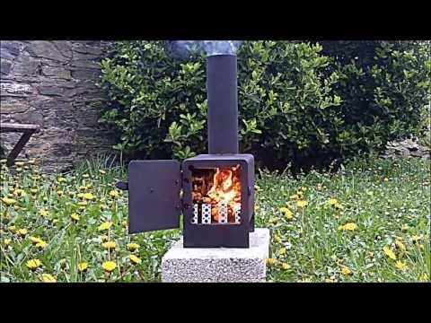 Wood-Burning Rocket Stove