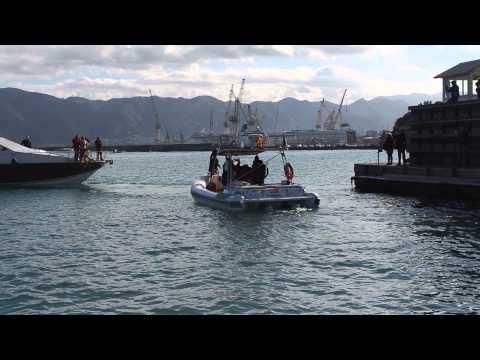 Palermo-Rio de Janeiro, la partenza dal porto dell'Arenella