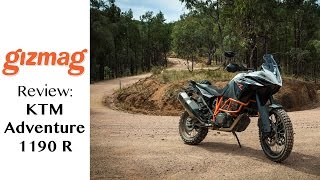 1. KTM Adventure 1190 R review: a superbike for the dirt