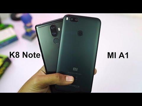 Mi A1 vs Lenovo K8 Note Comparison