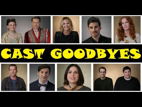 "Once Upon A Time Season 7 Cast Goodbyes (HD) ""And They Lived Happily Ever After"""