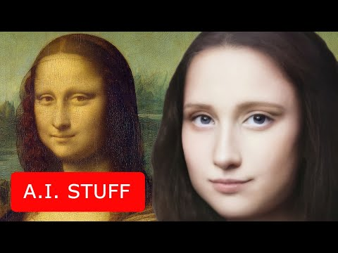 Top-7 wereldberoemde portretten getransformeerd in levende mensen