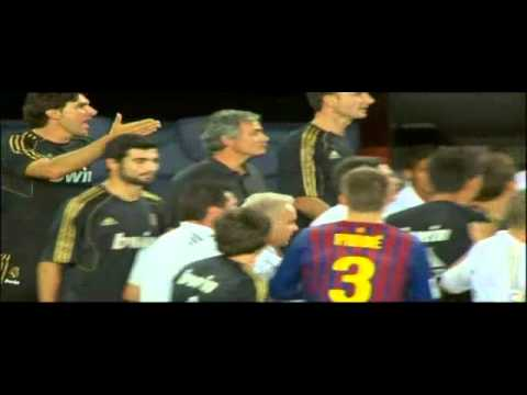 FC Barcelona vs Real Madrid : José Mourinho vs Tito Vilanova (2011-08-17) (видео)