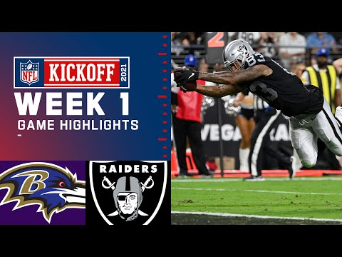 Game of the Year? Baltimore Ravens vs. Las Vegas Raiders | Week 1 2021 NFL Game Highlights