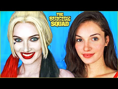 Harley Quinn (The Suicide Squad) Makeup Transformation - Cosplay Tutorial